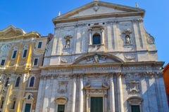 Bâtiment antique dans la place de Piazza Navona Navona, à Rome, Ital photo libre de droits