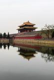Bâtiment antique de Chineese Images libres de droits