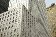 Bâtiment argenté NYC Image libre de droits