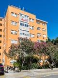 Bâtiment au Gibraltar photo libre de droits