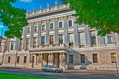 Bâtiment autrichien du Parlement à Vienne, photographie stock