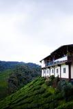Bâtiment avec le point de surveillance par t Cameron Highlands, Malaisie Image stock