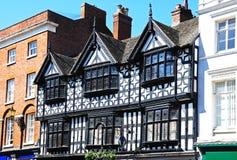Bâtiment boisé, Shrewsbury photographie stock