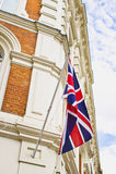Bâtiment britannique Image libre de droits