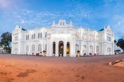 Bâtiment britannique de vieil héritage utilisé pour le Conseil local actuel de Penang, George Town, Penang photos libres de droits