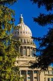 Bâtiment capitale de l'Idaho Photos stock