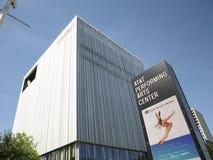Bâtiment central d'arts du spectacle d'AT&T photographie stock