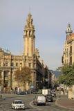 Bâtiment central de bureau de poste à Barcelone, Catalogne, Espagne photo stock