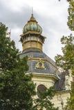 Bâtiment chez Petrin Hil à Prague Photos stock