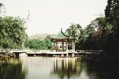 bâtiment chinois architectural de belvédère de la Chine d'architecture photos stock