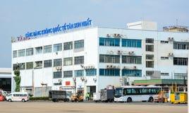 Bâtiment d'aéroport de Tan Son Nhat dans Saigon, Vietnam Photographie stock