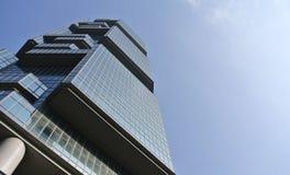 Bâtiment d'affaires en Hong Kong Images libres de droits