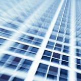 Bâtiment d'affaires, modèles abstraits Images stock