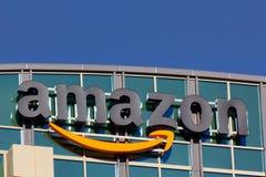 Bâtiment d'Amazone Photos libres de droits