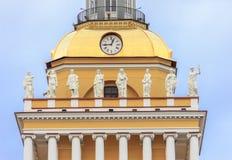 Bâtiment d'Amirauté dans le St Petersbourg Photographie stock