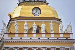 Bâtiment d'Amirauté dans le St Petersbourg Photos libres de droits