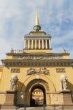 Bâtiment d'Amirauté - St Petersbourg, Russie Photo stock