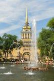 Bâtiment d'Amirauté - St Petersbourg, Russie Image stock