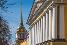 Bâtiment d'Amirauté, St Petersbourg, Russie Photographie stock