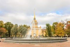 Bâtiment d'Amirauté, St Petersburg Photographie stock libre de droits