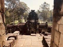 Bâtiment d'Angkor image stock