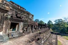 Bâtiment d'Angkor Vat Image stock