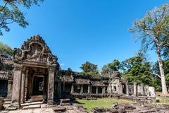 Bâtiment d'Angkor Vat Images stock