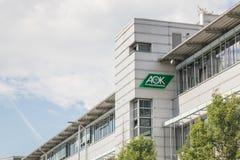 Bâtiment d'AOK Image libre de droits