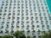 Bâtiment d'Apartement image stock