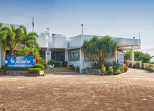 Bâtiment d'aquarium de Phuket Image stock