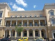 Bâtiment d'architecture à Sofia - été 2015 images stock