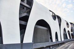 Bâtiment d'Art Nouveau à Singapour Architecture moderne images stock