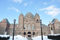 Bâtiment d'Assemblée législative d'Ontario Image libre de droits