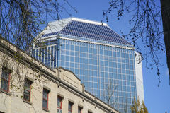 220 bâtiment d'avenue de nanowatt 2èmes à Portland - à PORTLAND - en ORÉGON - 16 avril 2017 Images libres de droits