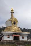 Bâtiment d'or de Langmusi Photos libres de droits