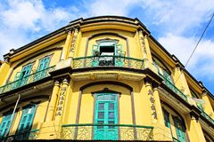 Bâtiment d'héritage, Macao, Chine photos libres de droits