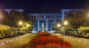 Bâtiment d'hôtel de ville Images libres de droits