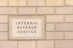 Bâtiment d'IRS image libre de droits