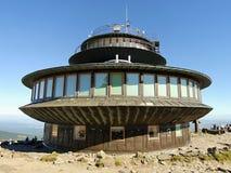 Bâtiment d'UFO Photographie stock
