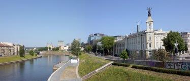 Bâtiment d'une vieille centrale de ville Photographie stock