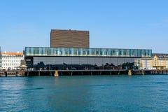 Bâtiment danois royal de maison de théâtre photos libres de droits