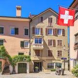 Bâtiment dans la vieille ville de Zurich photo libre de droits