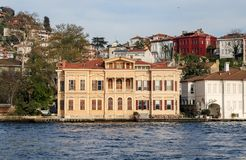 Bâtiment dans la ville d'Istanbul, Turquie Photographie stock
