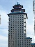 Bâtiment dans le style chinois Image stock