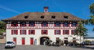Bâtiment dans Schaffhausen Photos libres de droits