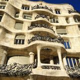 Bâtiment de Barselona Photo stock
