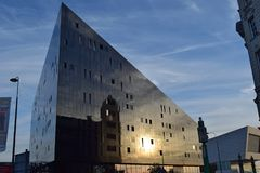 Bâtiment de bord de mer de Liverpool Photographie stock libre de droits