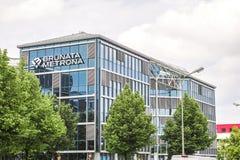 Bâtiment de Brunata Metrona Image libre de droits
