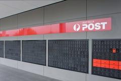 Bâtiment de bureau de poste de l'Australie avec B.P. photographie stock libre de droits