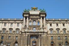 Bâtiment de Burg de Neue à Vienne photographie stock